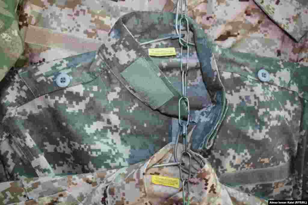 Очень популярна униформа американских военных