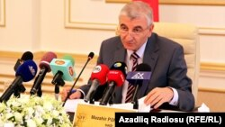 Azerbaijan -- Chairman of the Central Election Commission Mazahir Panahov, Baku, 09Oct2010