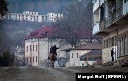 В городе Шуша, Нагорный Карабах. 25 марта 2014 года.