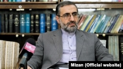 File Photo - Gholam-Hossein Esmaili, spokesman of Iran's Judiciary.