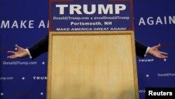 Выступление Дональда Трампа в Нью-Хэмпшире, 4 февраля 2016 года