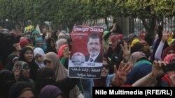 Ilustrim nga një protestë e mëparshme pro Morsit, Egjipt