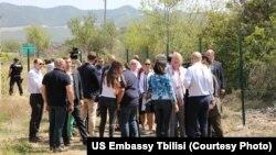 Аккредитованные в Грузии дипломаты на месте ознакомились с ситуацией