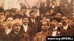 Діячі кримськотатарського національного руху та Української Центральної Ради, 1917 рік