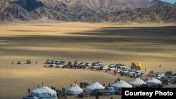 Юрты на празднике в Монголии, 2014 год. Иллюстративное фото.
