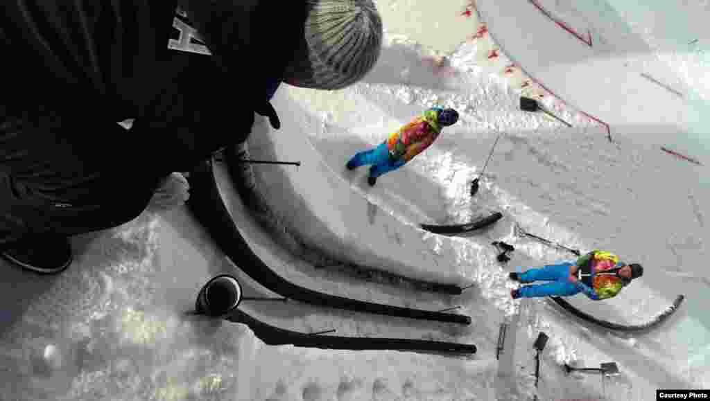 Алімпіяду ўратаваў толькі сухі лёд