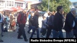 Туристи од Турција во посета на Охрид за муслиманскиот празник Курбан Бајрам.