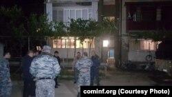 На месте происшествия работают оперативно-следственные группы МВД и Генпрокуратуры