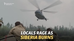 Locals Rage At Moscow As Siberian Forests Burn