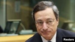 Претседателот на Европската централна банка Марио Драги.