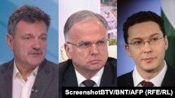 Д-р Александър Симидчиев, Боян Чуков и Даниел Митов