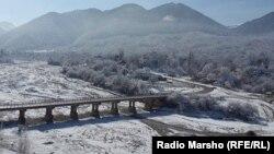 Chechnya --In the Chechen mountains, Vedeno, 20 Februare 2015