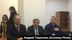 Судебное заседание по делу экс-губернатора Новосибирской области Василия Юрченко