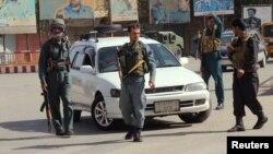 نیروهای پلیس افغانستان در قندوز