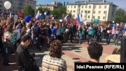 Антикоррупционный митинг в Казани. 12 июня
