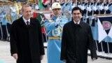 Türkmenistanyň we Türkiýäniň prezidentleri G.Berdimuhamedow (s) we R.Erdogan (ç), Ankara, 3-nji mart, 2015