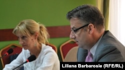 Ambasadorul Dirk Schueble la conferința de presă de la Chșinău