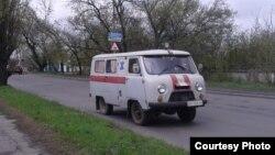 Стара швидка на вулицях Торезу (фото автора)