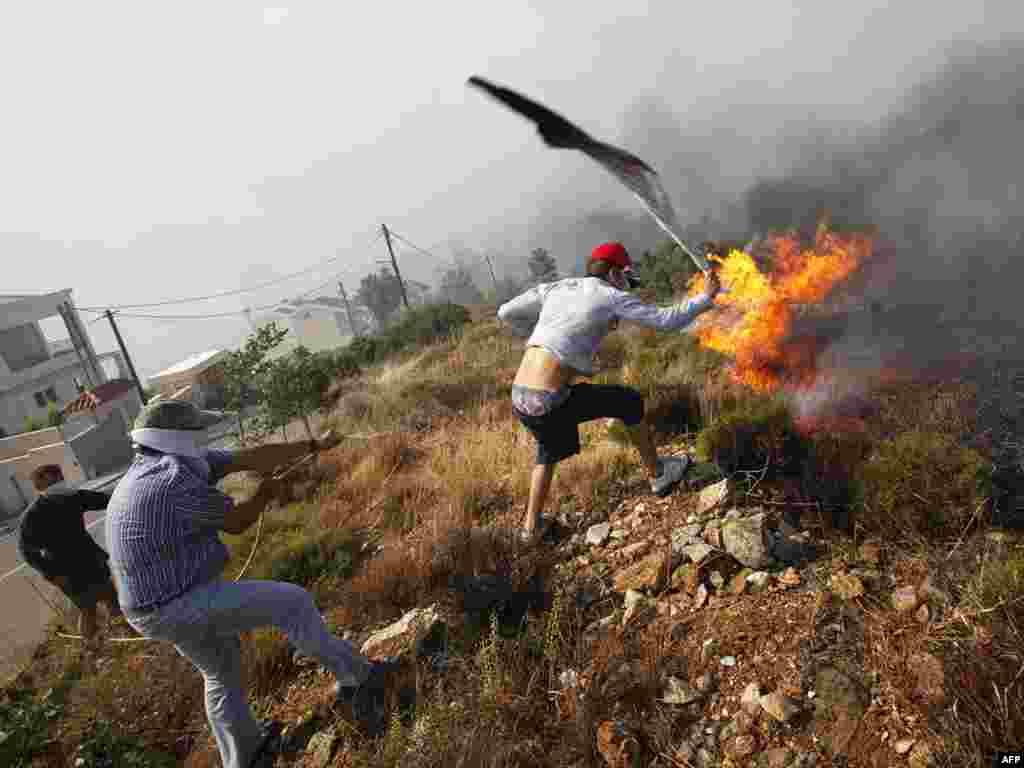 Лесные пожары в Греции. Огонь подступает к пригороду Афин Пендели