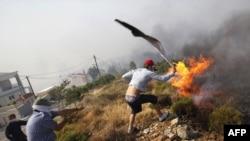 Грција - пожари