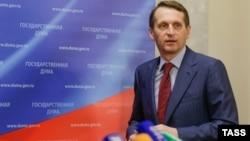 Спікер Держдуми Росії Сергій Наришкін