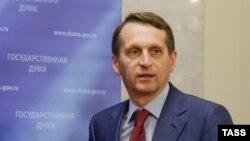 Сергій Наришкін, архівне фото