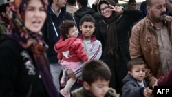 Փախստականներ Հունաստանում, նոյեմբեր, 2015թ․