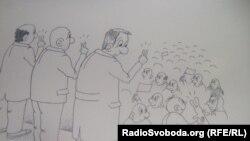 Конкурс карикатур «Право на вибір»