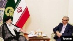 دیدار محمد باقری، رئیس ستاد کل نیروهای مسلح با ابراهیم رئیسی.