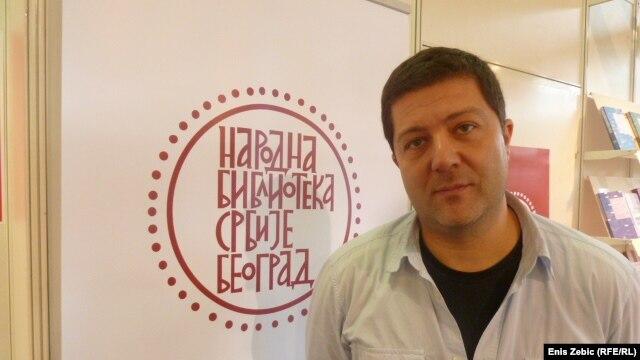 Dragan Purešić na sajmu knjiga u Zagrebu