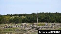 Развалины городка херсонеситов