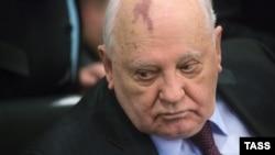 Ish-presidenti sovjetik, Mikhail Gorbachev.