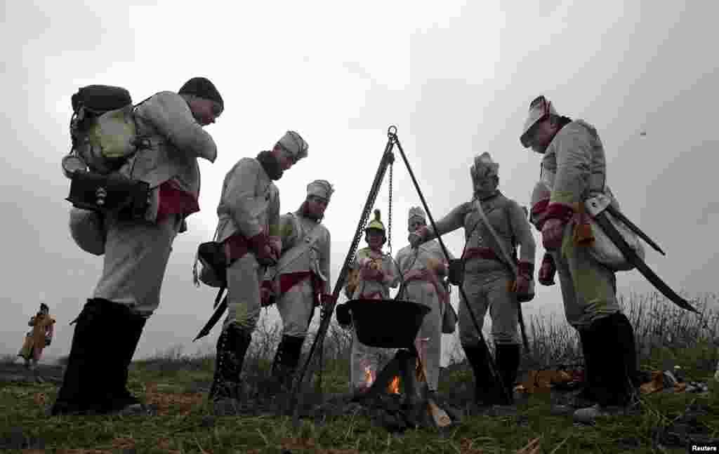 Чехия славится своими фестивалями исторических битв.