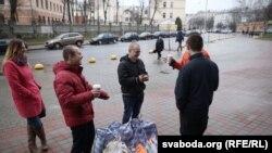 Звільнені активісти під СІЗО у Мінську