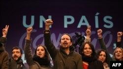 Pablo Iglesias i Podemos nakon objave rezultata izbora u Španiji