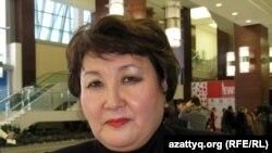 Кәсіпкер Алмагүл Сәуденова. Астана, 21 қараша 2012 жыл.