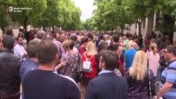Protest novinara u Podgorici