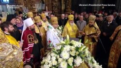 Ukraine's Orthodox Church Enthrones Metropolitan Epifaniy