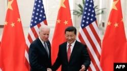 Встреча в Пекине председателя КНР Си Цзиньпина и вице-президента США Джо Байдена, 4 декабря 2013 года