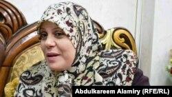 وزيرة الدولة لشؤون المرأة ابتهال الزيدي