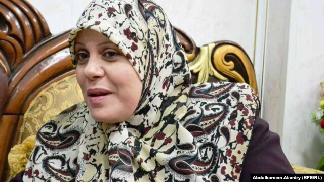 Minister for Women's Affairs Ibtihal al-Zaidi