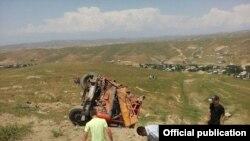 Сузак районундагы жол кырсыгы. 13-июнь, 2017-жыл.