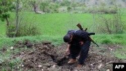 Курдский повстанец