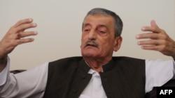 Pakistani Railways Minister Ghulam Ahmed Bilour