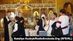 Пошанування мощів святих Івана Павла II та Івана XXIII, собор св. Софії, Рим, 11 травня 2014 року