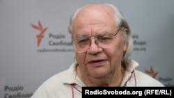 Іван Драч у студії Радіо Свобода. Київ, 1 серпня 2016 року