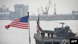 Fregat al forţelor NATO în portul Constanţa, 13 martie 2015