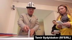 Кыргызстандагы орус жарандарынын добуш берүүсү