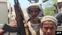 نیروهای وفادار به رییس جمهوری یمن (عکس از آرشیو)