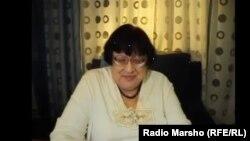"""Оьрсийчоь -- Новодворская Валерия, """"Демократин кхеташо"""" партин лидер, скриншот"""